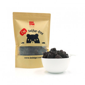 Sulfur-Free Premium Black Dates (Rounded) 500gm